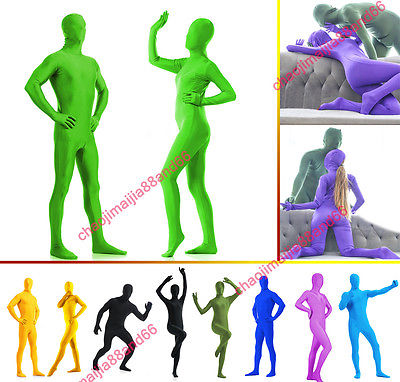 DH Zentai Suit Men's Spandex Lycra Halloween Full Body Costume.