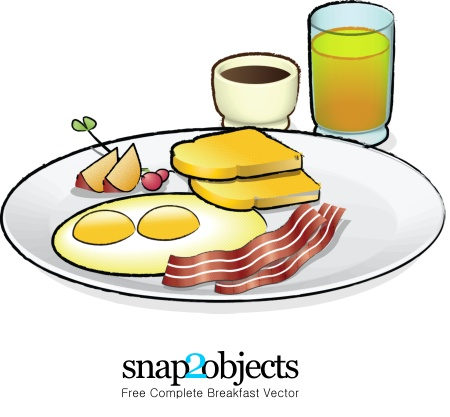 Full english breakfast clipart cliparthut free clipart image.