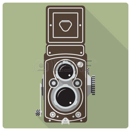 Medium format camera clipart.