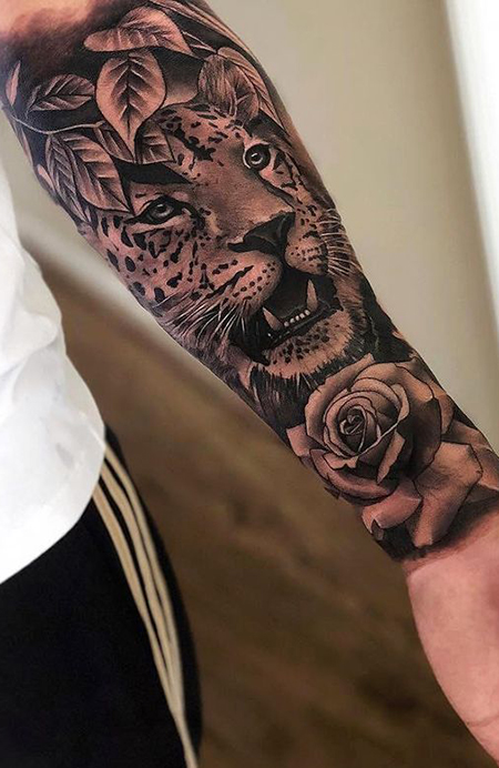 30 Cool Forearm Tattoos for Men.