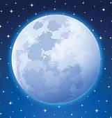 Full moon clipart free.