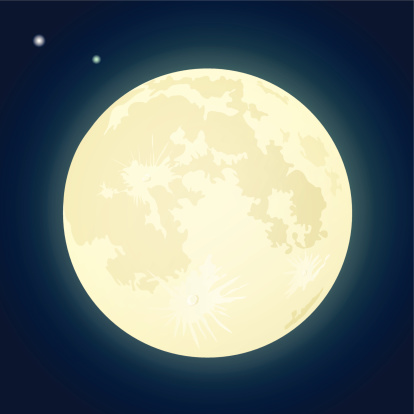 Fullmoon clipart - Clipground
