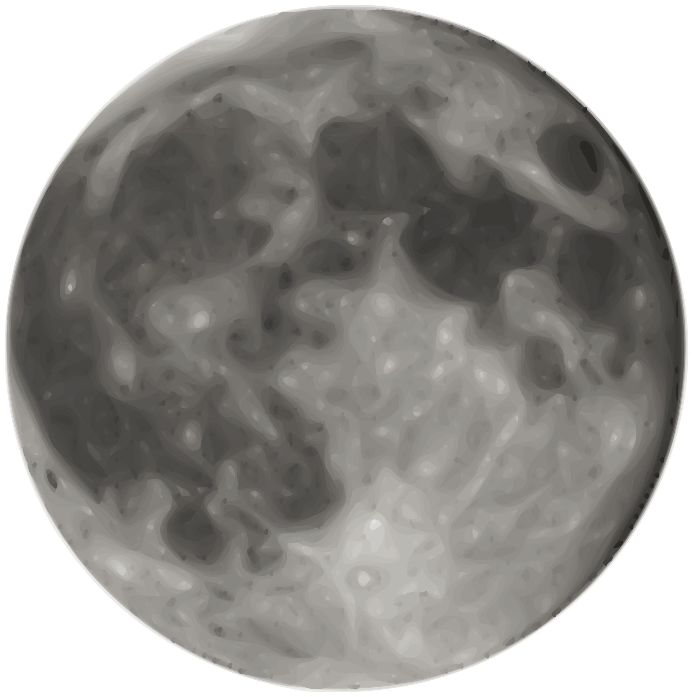 Full moon clipart images.