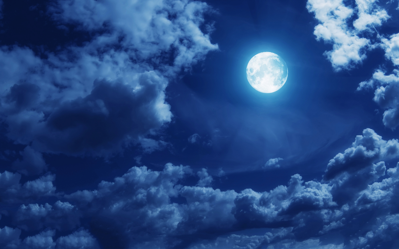 Full Moon Night Clipart.