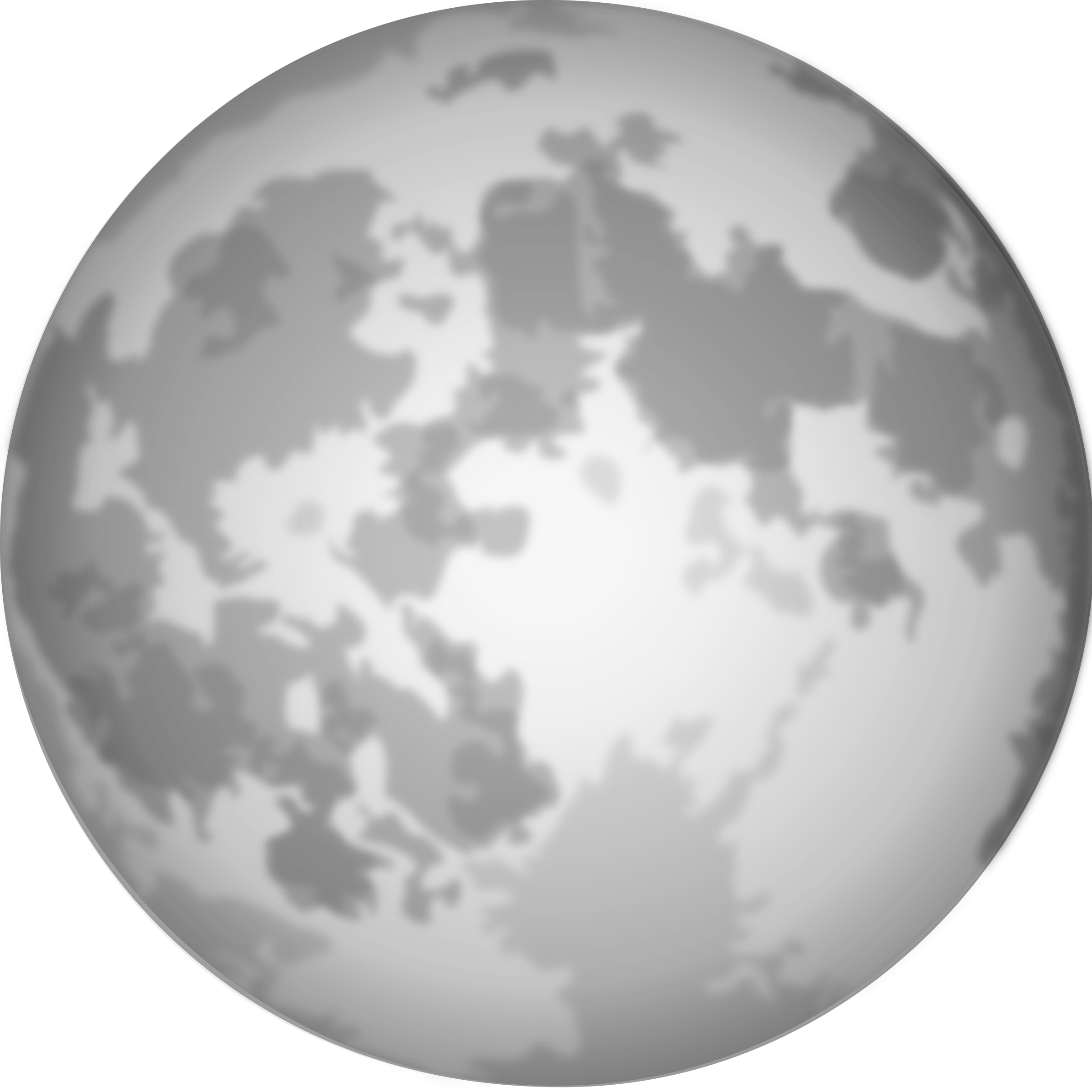 1349 Full Moon free clipart.