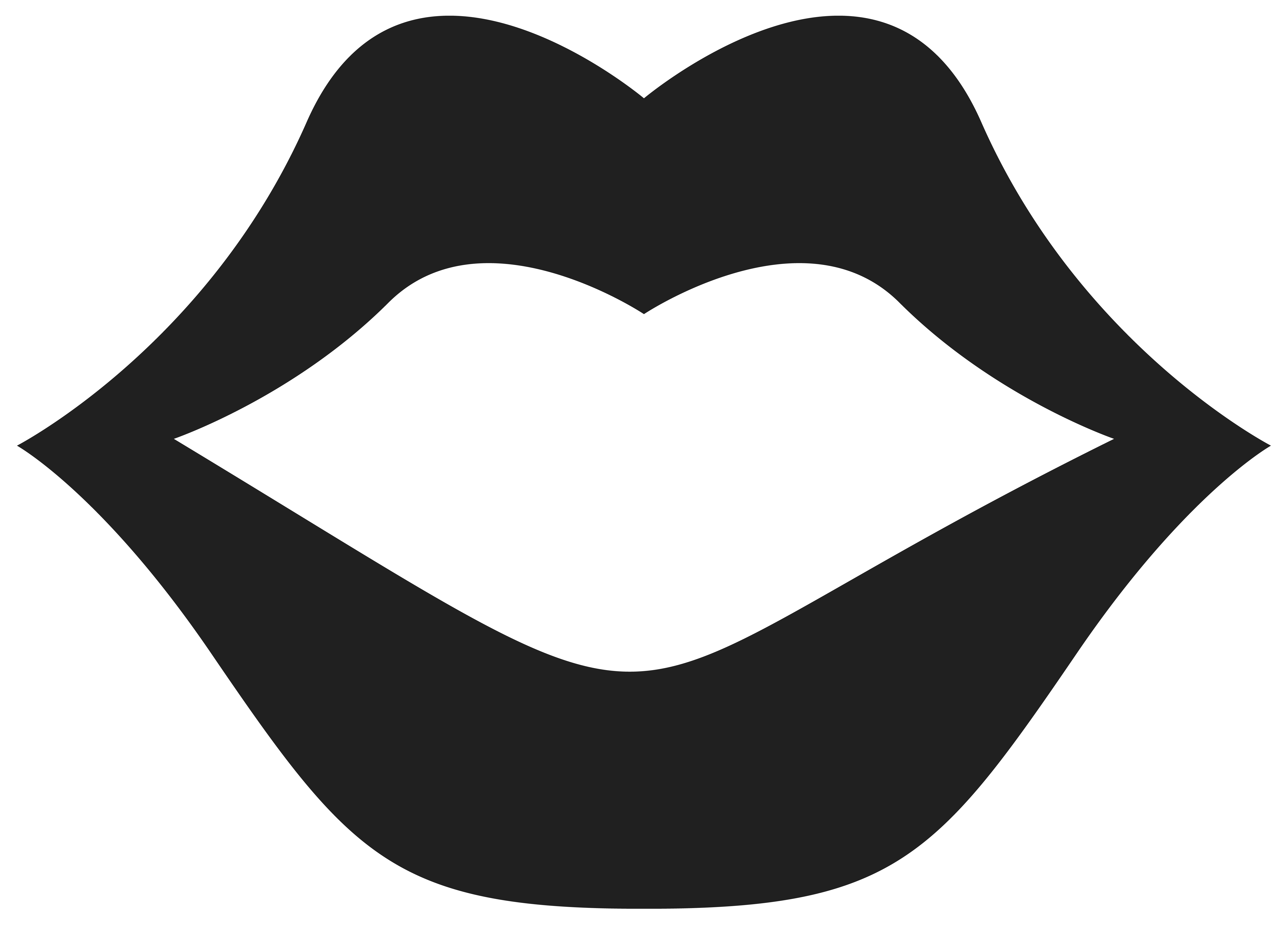 Movember Mouth PNG Clipart Picture.