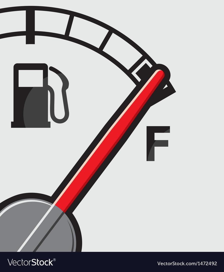 Full gas tank.
