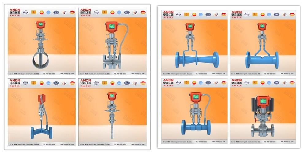 Integrative Venturi Flow Meter For Industrial Pipe Flow.