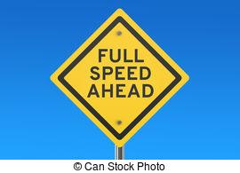 Stock Illustrations of Full speed ahead.