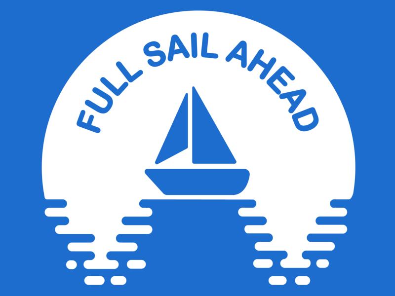 Full Sail Ahead Logo by Caitlin Koi on Dribbble.