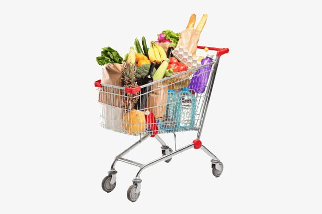 Full cart PNG clipart.
