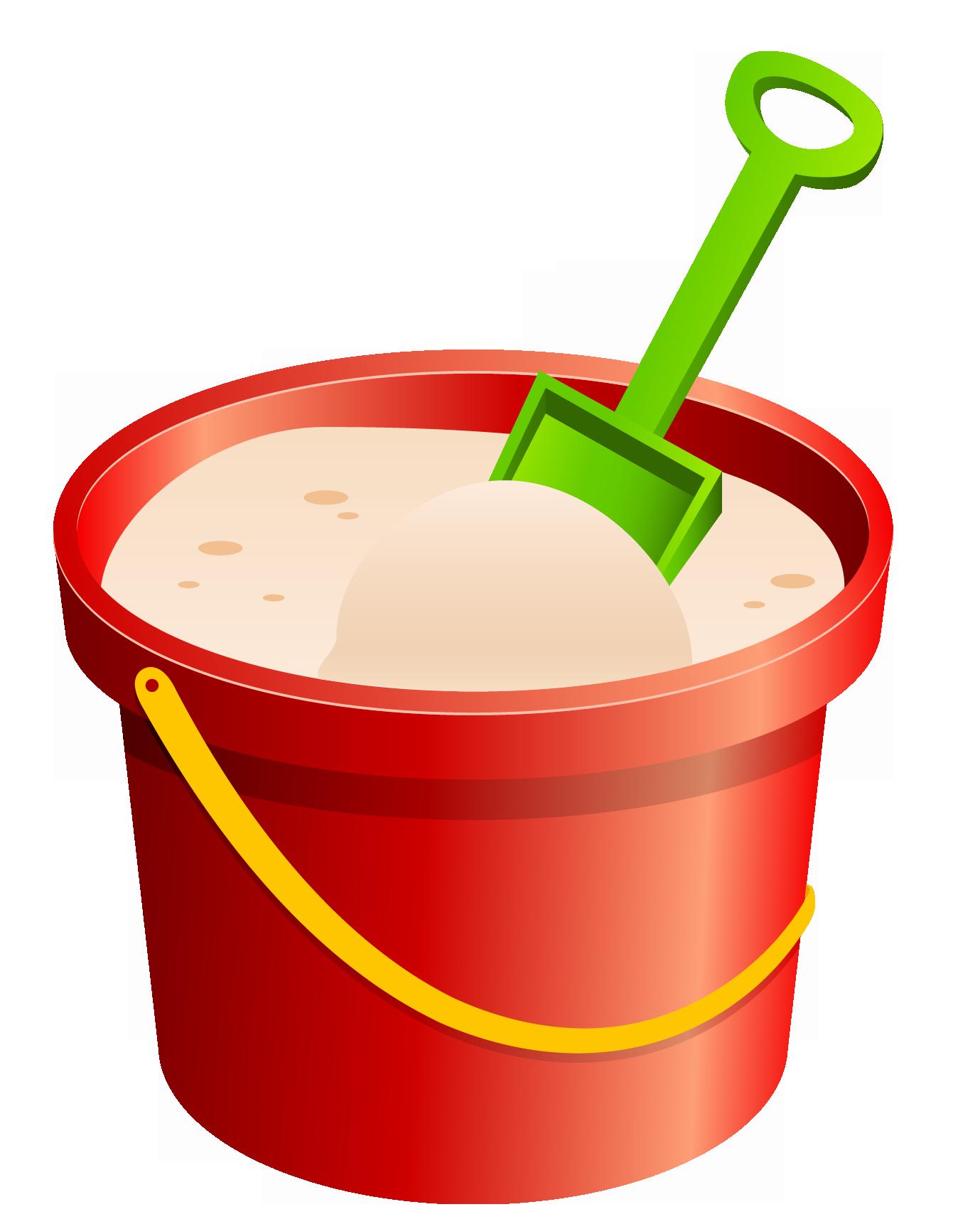 Full bucket clipart.
