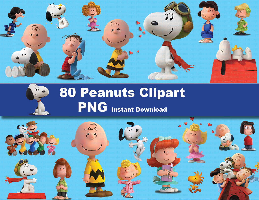 Snoopy full body clipart.