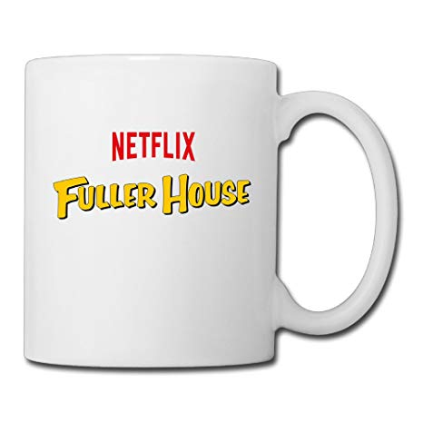 Amazon.com: NOLAii Fuller House Logo Morning Ceramic Coffee.