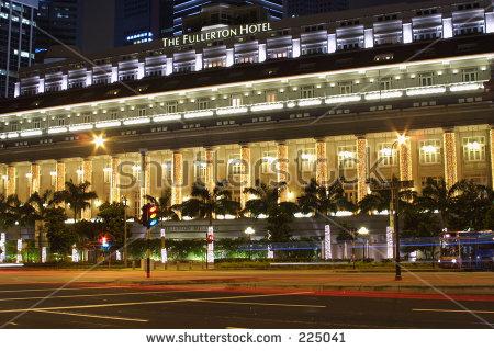 Fullerton Hotel Banco de imágenes. Fotos y vectores libres de.