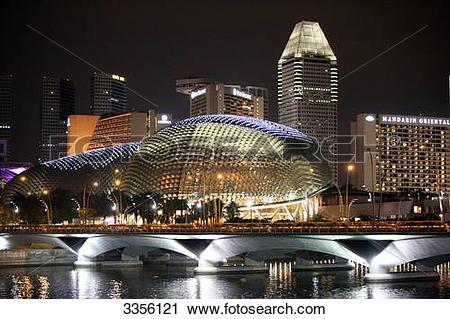 Stock Photography of Fullerton Hotel, Singapore, Asia 3356121.