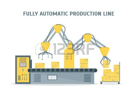 59 Fully Automatic Stock Vector Illustration And Royalty Free.