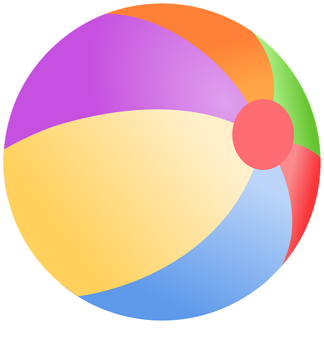 Free vector graphic: Ball, Beach, Colorful, Fun, Play.