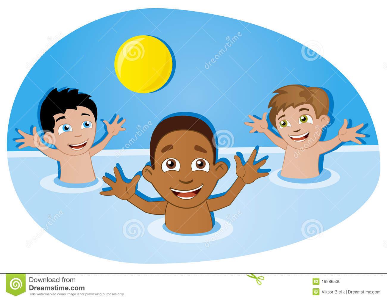 Pool Fun Clipart.