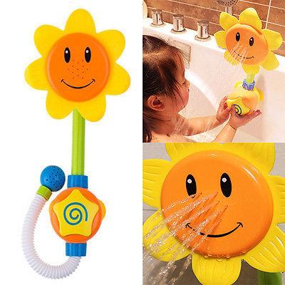 Aliexpress.com : Buy Baby Fun Bath Toys Children Sunflower Shower.