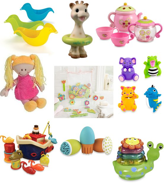 Fun Bath Time Toys For Babies and Toddlers.