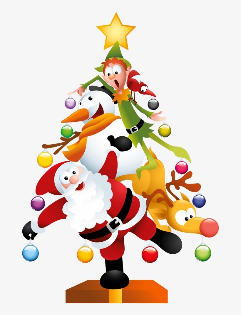 Funny Transparent Christmas Tree.