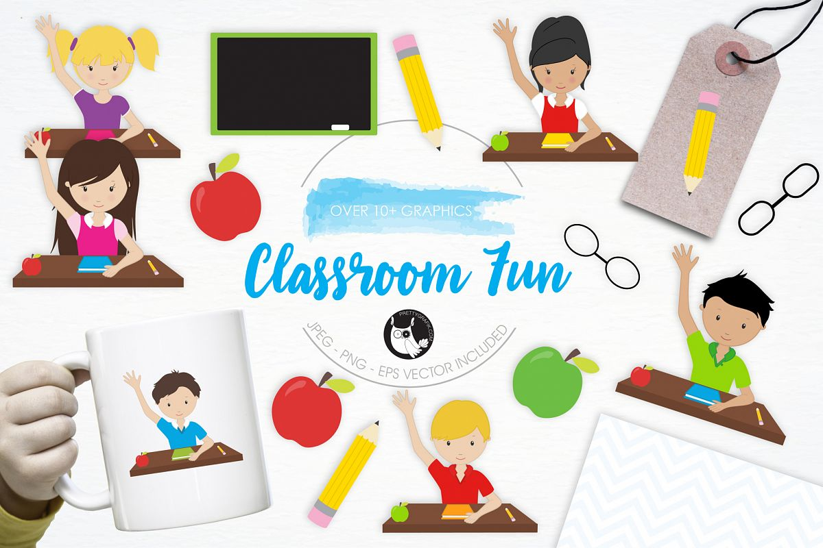 Class clipart fun classroom, Class fun classroom Transparent.