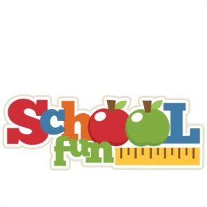 School Fun Clipart.