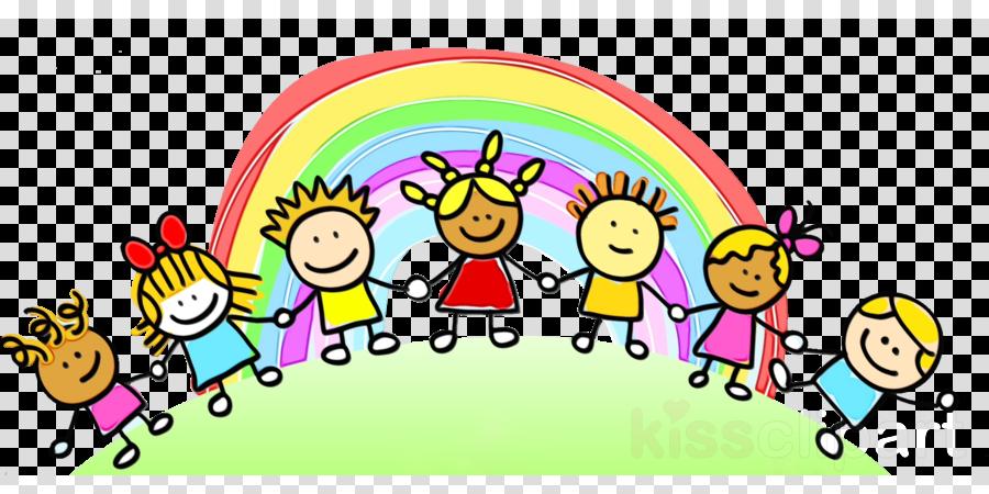 cartoon social group happy line fun clipart.