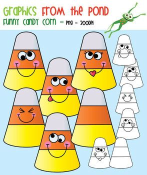 Funny Candy Corn.