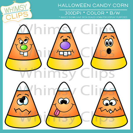 Halloween Candy Corn Clip art , Images & Illustrations.