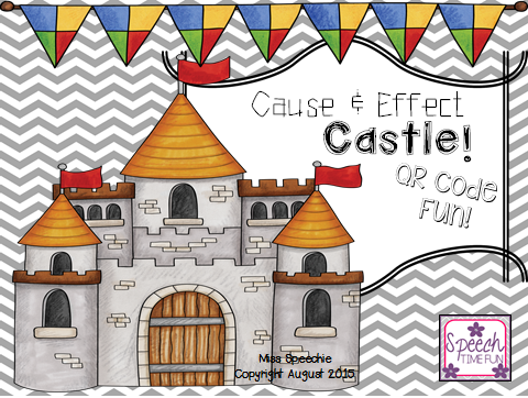 Cause & Effect Castle! QR Code Fun!.