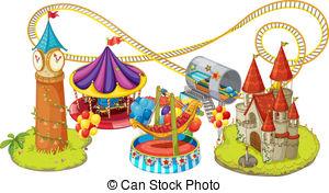 Fun Fair Games Clipart.
