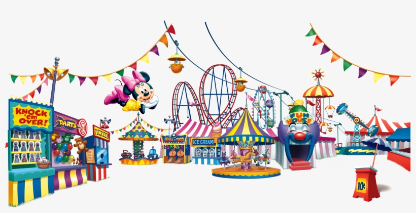 Royalty Free Stock Amusement Clipart Recreational Park.
