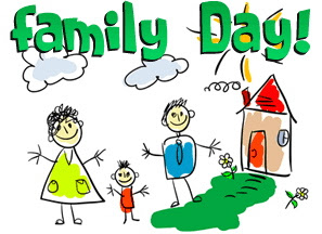 Family Fun Day Clip Art.
