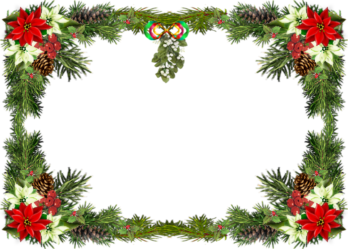 Christmas Frame PNG submited images Pic 2 Fly.