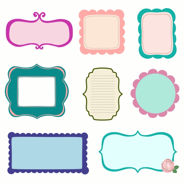 fun frame clipart png - Clipground