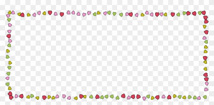 Hearts Love Colorful Fun Frame 1490240.