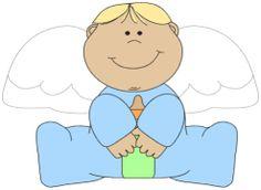fun girl angel clipart #12