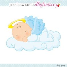 fun girl angel clipart #1