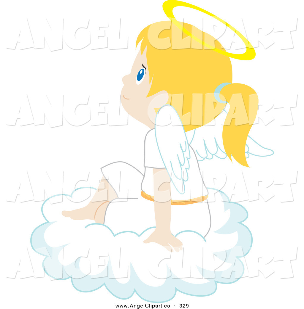 Girl Angel Clipart.