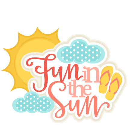 Fun in the sun clip art clipart images gallery for free download.