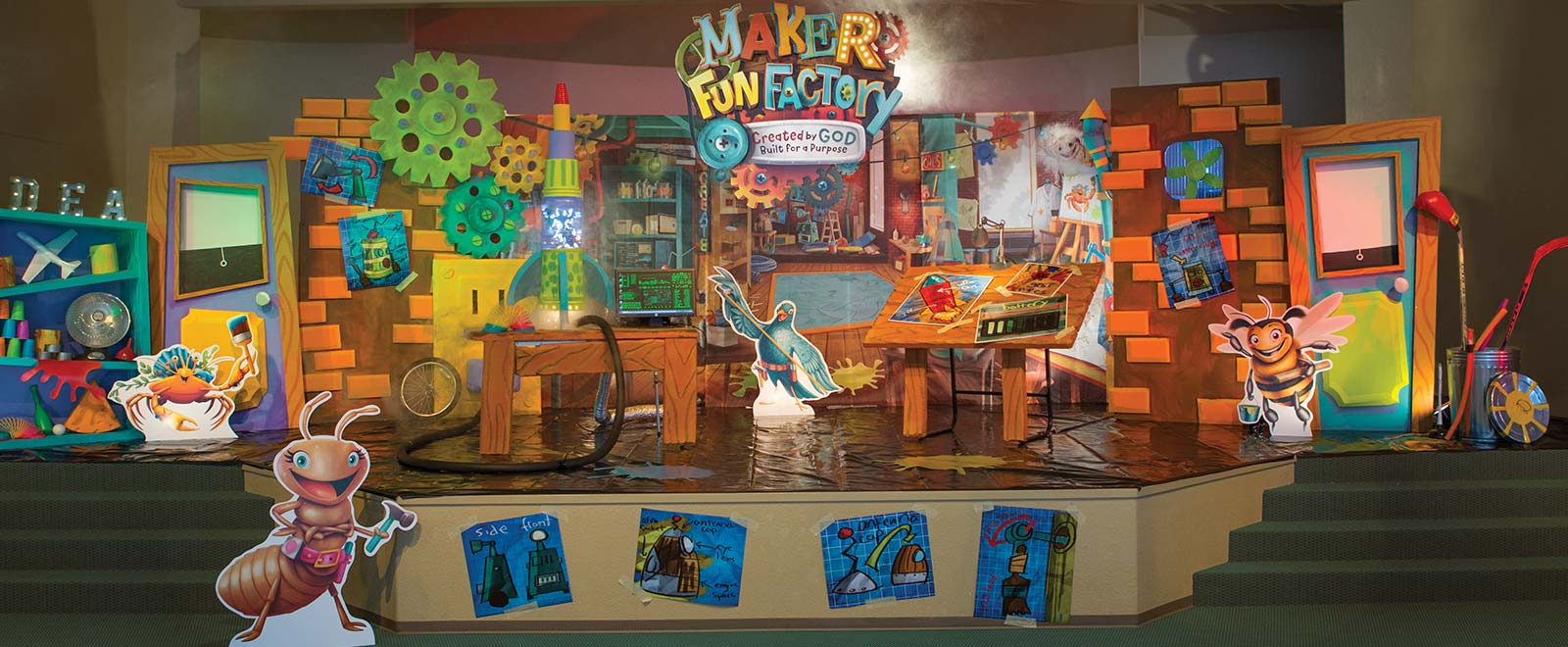 Gathering Ideas for Maker Fun Factory VBS.