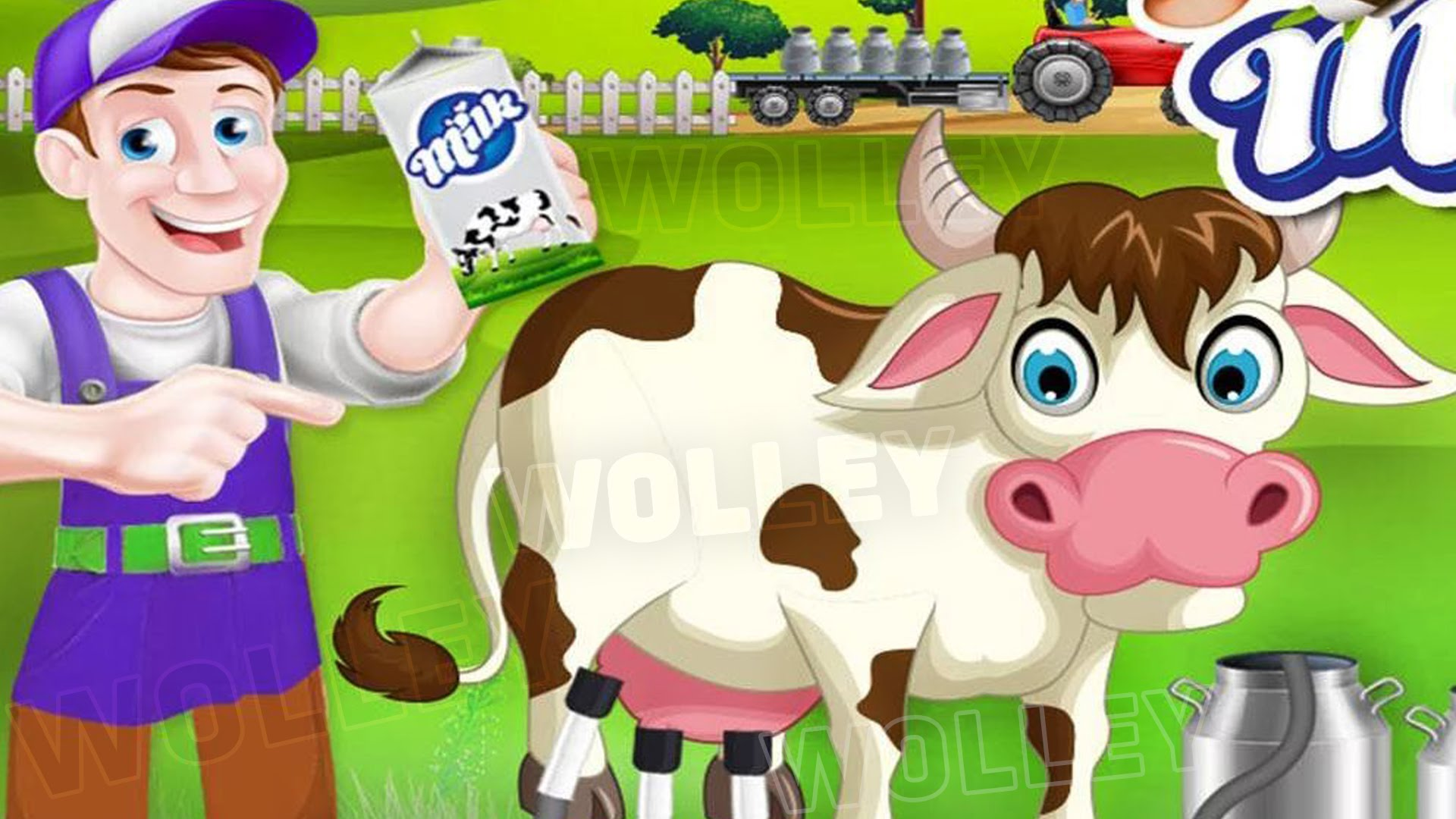 Kids Learn How Milk is Made.