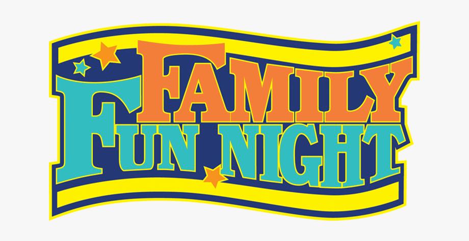 Family Fun Night Clipart.