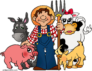 All About Farm Animals Theme.