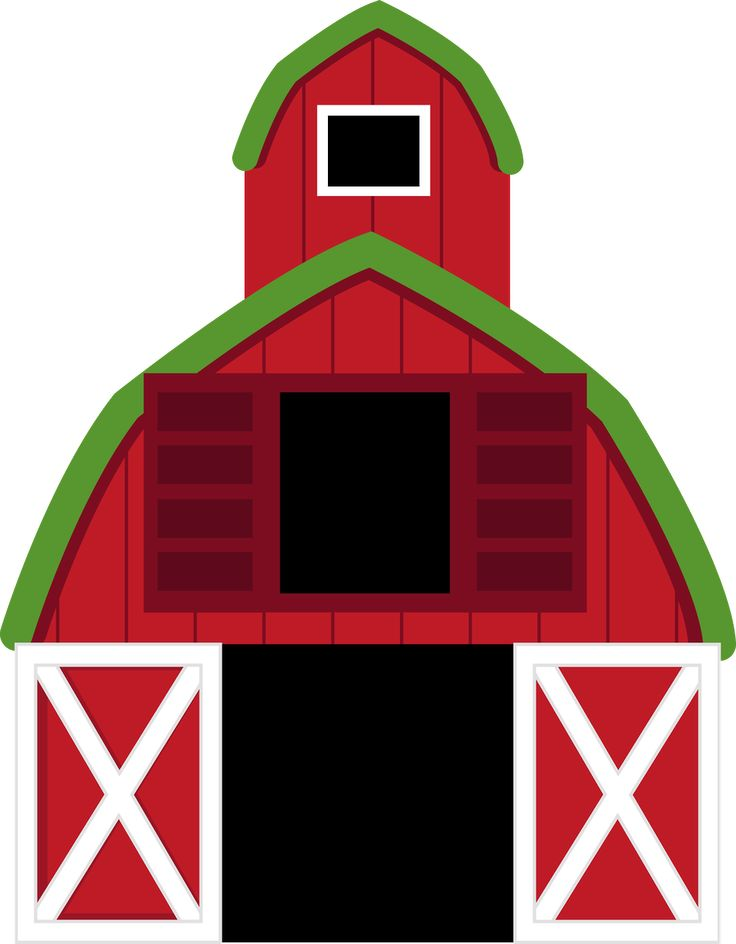 6 fun on the farm clipart images 2.