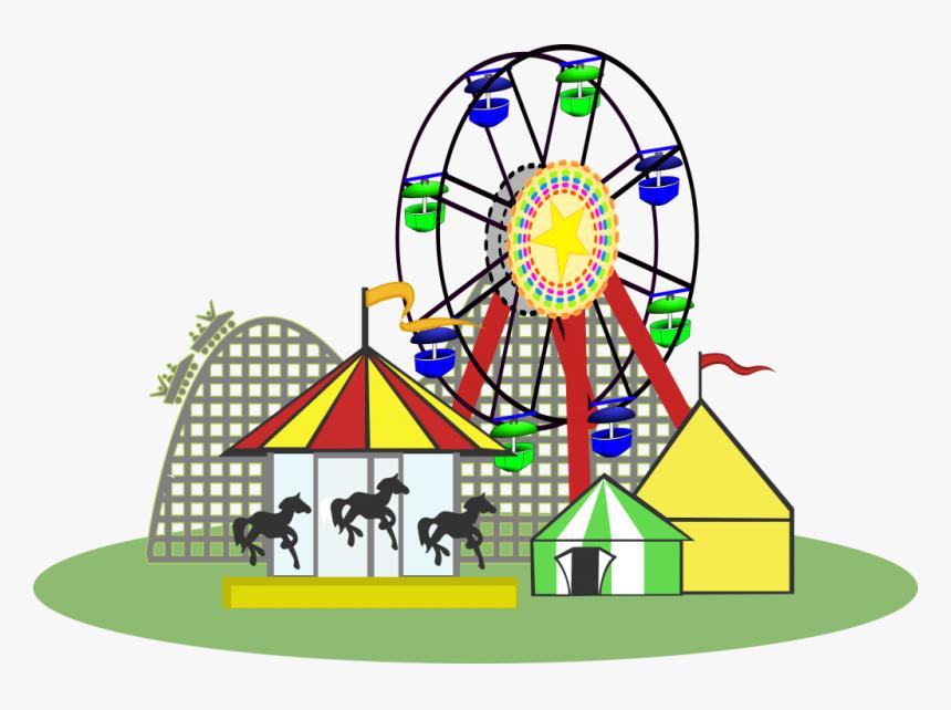 Transparent Theme Park Png.