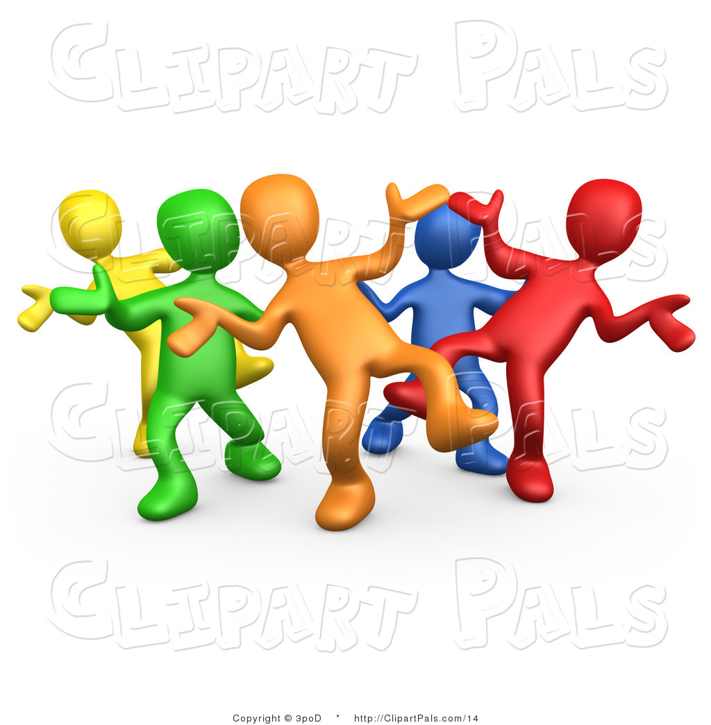Clipart Of People Having Fun.
