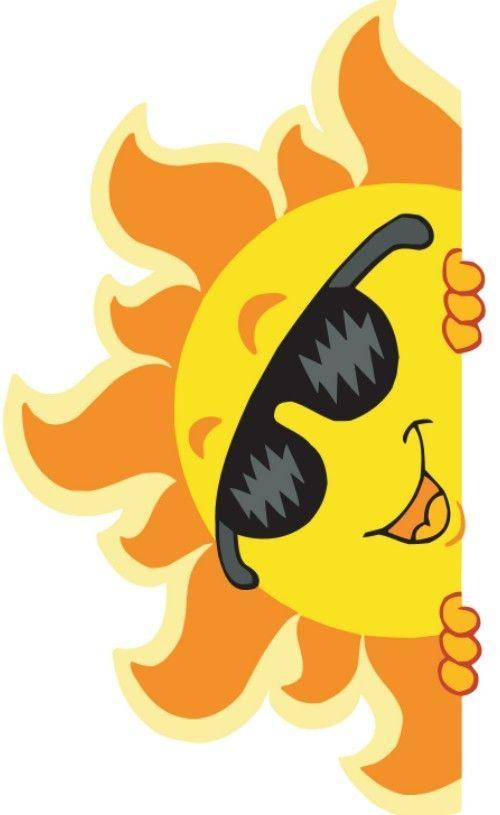 Summer Clipart Free Fresh Cartoon Fun Vector Illustration 03 Complex.